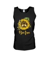 Bee Happy Unisex Tank thumbnail