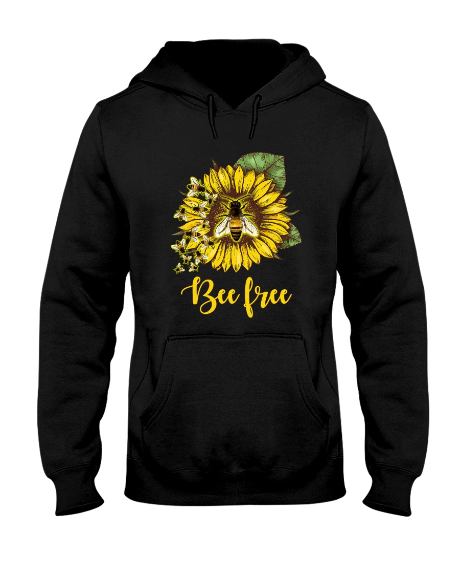 Bee Happy Hooded Sweatshirt