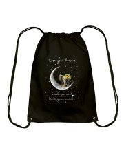 Lose You Dream And Will Lose Your Mind Drawstring Bag thumbnail