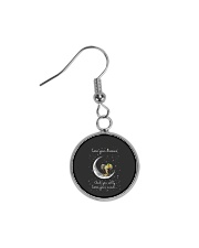 Lose You Dream And Will Lose Your Mind Circle Earrings thumbnail