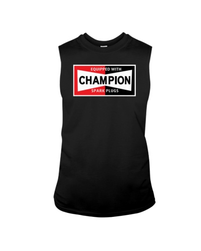 Champion spark plugs shirt | TeeChip