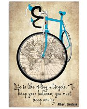 Life Is Like Riding A Bicycle 24x36 Poster thumbnail