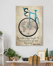 Life Is Like Riding A Bicycle 20x30 Gallery Wrapped Canvas Prints aos-canvas-pgw-20x30-lifestyle-front-03