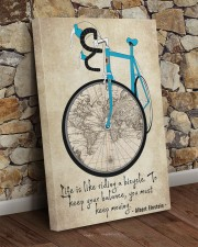 Life Is Like Riding A Bicycle 20x30 Gallery Wrapped Canvas Prints aos-canvas-pgw-20x30-lifestyle-front-21