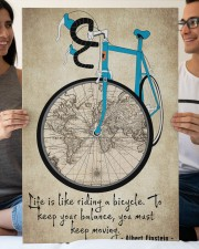 Life Is Like Riding A Bicycle 20x30 Gallery Wrapped Canvas Prints aos-canvas-pgw-20x30-lifestyle-front-26