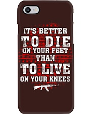 It's Better To Die Phone Case thumbnail
