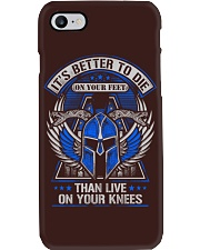 Its Better To Die Phone Case thumbnail