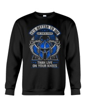 Its Better To Die Crewneck Sweatshirt thumbnail
