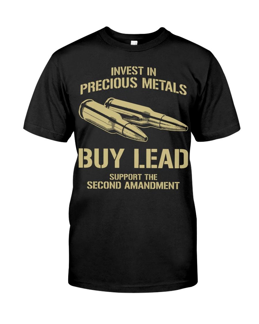 Invest In  Precious Metals Classic T-Shirt
