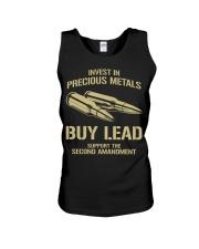 Invest In  Precious Metals Unisex Tank thumbnail