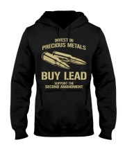 Invest In  Precious Metals Hooded Sweatshirt thumbnail