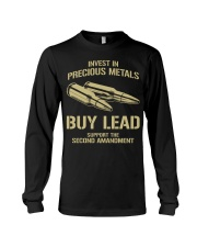 Invest In  Precious Metals Long Sleeve Tee thumbnail