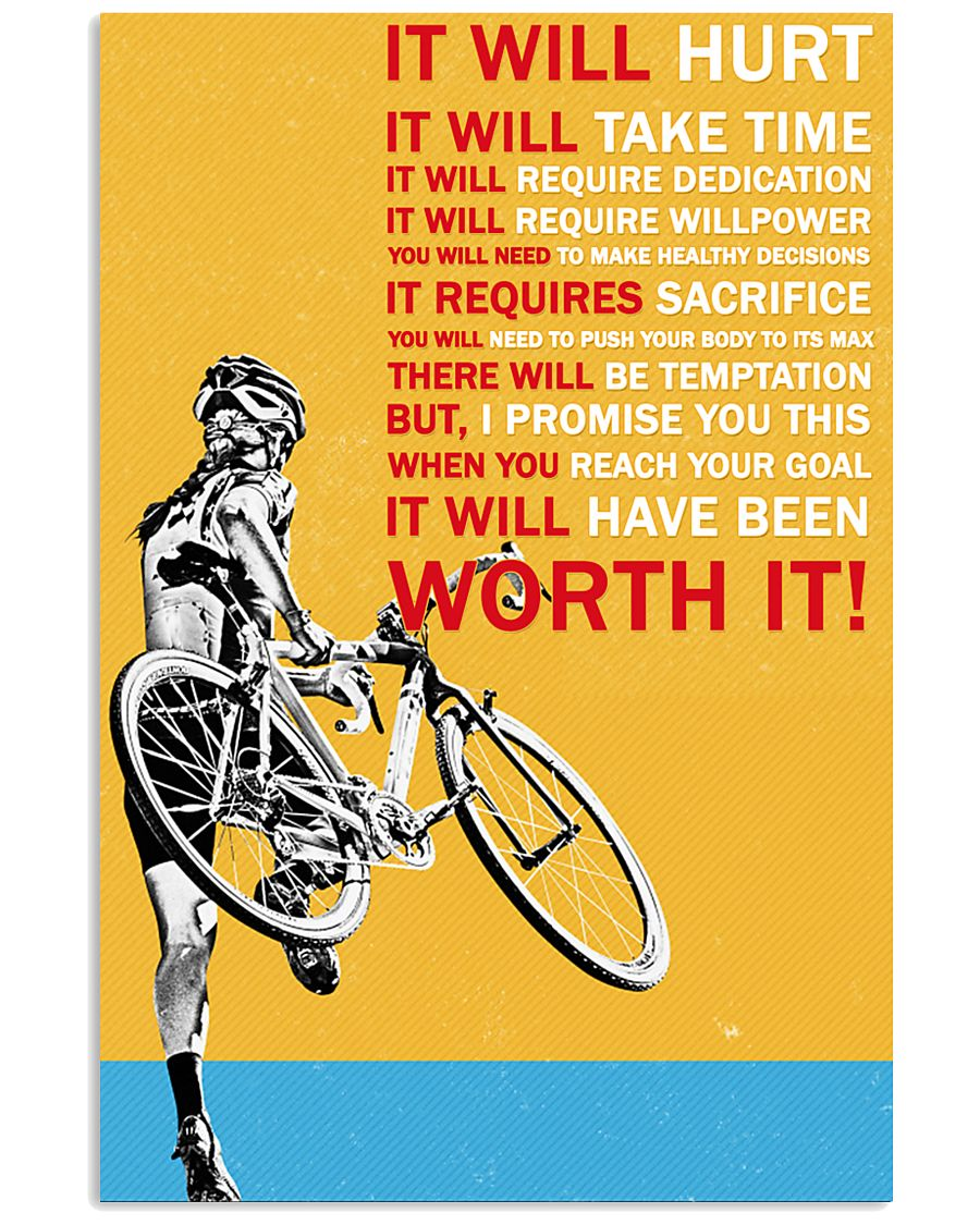 It Will Hurt It Will Take Time 16x24 Poster