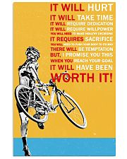 It Will Hurt It Will Take Time 16x24 Poster front