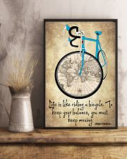 Life Is Like Riding A Bicycle 11x17 Poster lifestyle-poster-3