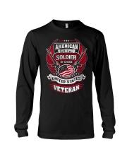 Veteran American By Birth Long Sleeve Tee thumbnail