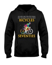 Equal Cycling SEVENTIES Men Shirt  Hooded Sweatshirt thumbnail