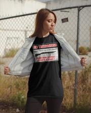 No Trespassing Classic T-Shirt apparel-classic-tshirt-lifestyle-07