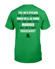 YES - HE'S CYCLING Classic T-Shirt thumbnail