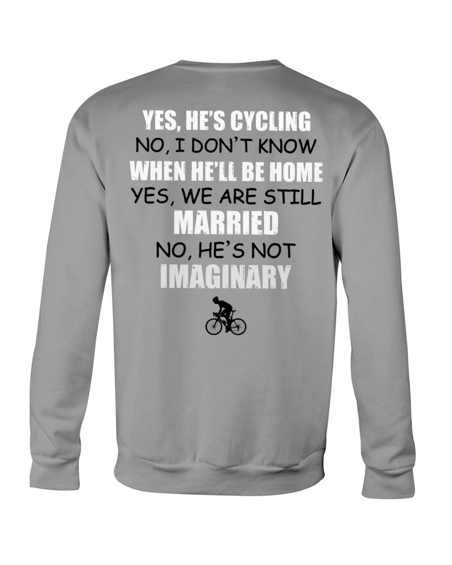 YES - HE'S CYCLING Crewneck Sweatshirt