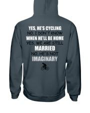 YES - HE'S CYCLING Hooded Sweatshirt thumbnail