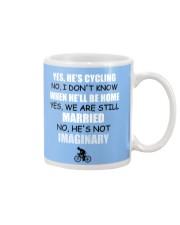 YES - HE'S CYCLING Mug thumbnail