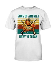 Navy Veteran Premium Fit Mens Tee tile