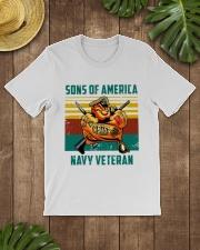 Navy Veteran Premium Fit Mens Tee lifestyle-mens-crewneck-front-18