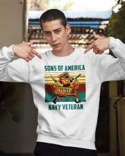 Navy Veteran Crewneck Sweatshirt apparel-crewneck-sweatshirt-lifestyle-04