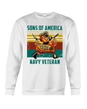 Navy Veteran Crewneck Sweatshirt tile