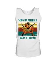 Navy Veteran Unisex Tank thumbnail