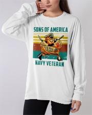 Navy Veteran Long Sleeve Tee apparel-long-sleeve-tee-lifestyle-front-19