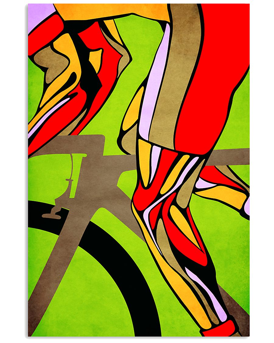 Cycling Legs  16x24 Poster