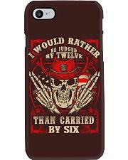 Judged By Twelve Phone Case thumbnail