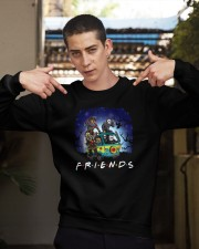 Friends Halloween Crewneck Sweatshirt apparel-crewneck-sweatshirt-lifestyle-04