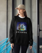 Friends Halloween Crewneck Sweatshirt apparel-crewneck-sweatshirt-lifestyle-front-12