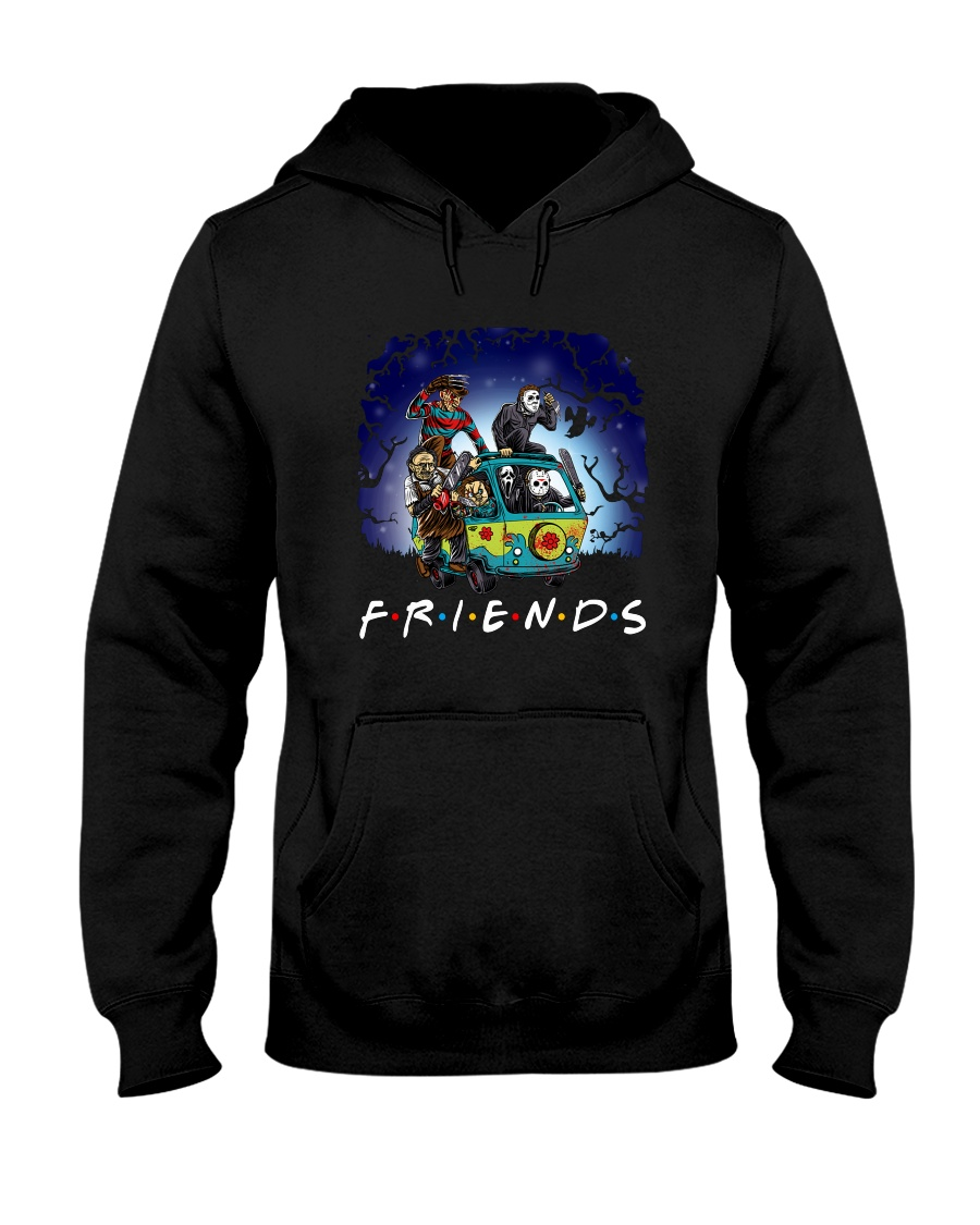 Friends Halloween Hooded Sweatshirt