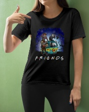 Friends Halloween Ladies T-Shirt apparel-ladies-t-shirt-lifestyle-front-10