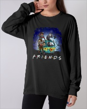 Friends Halloween Long Sleeve Tee apparel-long-sleeve-tee-lifestyle-front-19