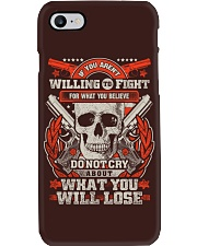 Willing to Fight Phone Case thumbnail