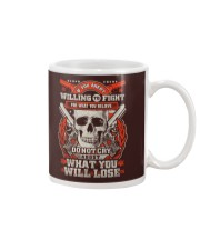 Willing to Fight Mug thumbnail