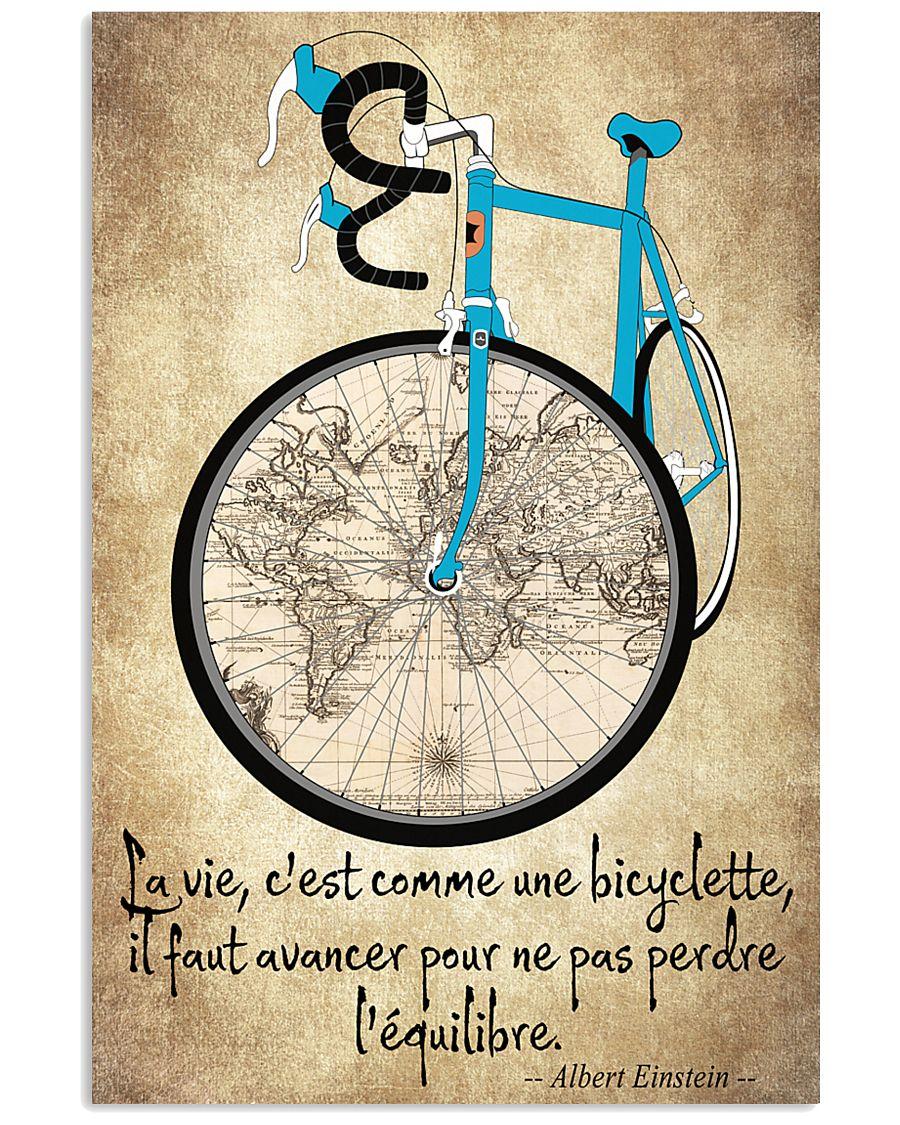 La Vie C'est Comme Une Bicyclette 11x17 Poster