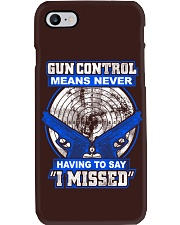 Gun Control Phone Case thumbnail