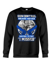 Gun Control Crewneck Sweatshirt thumbnail