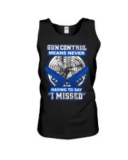 Gun Control Unisex Tank thumbnail