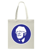 Bernie Sanders Circle Portrait Tote Bag thumbnail
