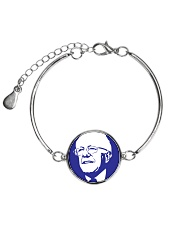 Bernie Sanders Circle Portrait Metallic Circle Bracelet thumbnail