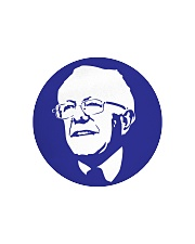 Bernie Sanders Circle Portrait Circle Cutting Board thumbnail