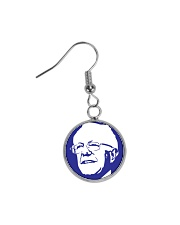 Bernie Sanders Circle Portrait Circle Earrings thumbnail