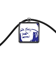 Bernie Sanders Circle Portrait Cord Rectangle Necklace thumbnail